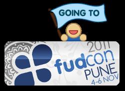 YEH! I'm attending FUDCon Pune 2011! :)